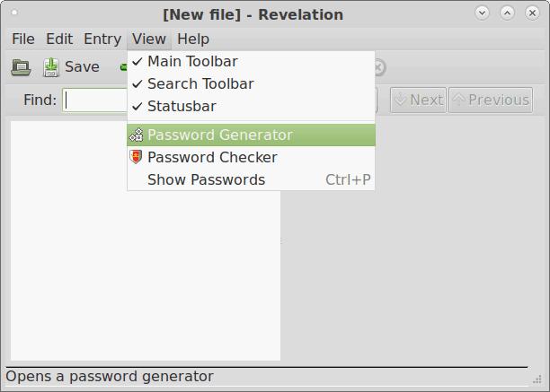 Откровение - путь к Генератору паролей