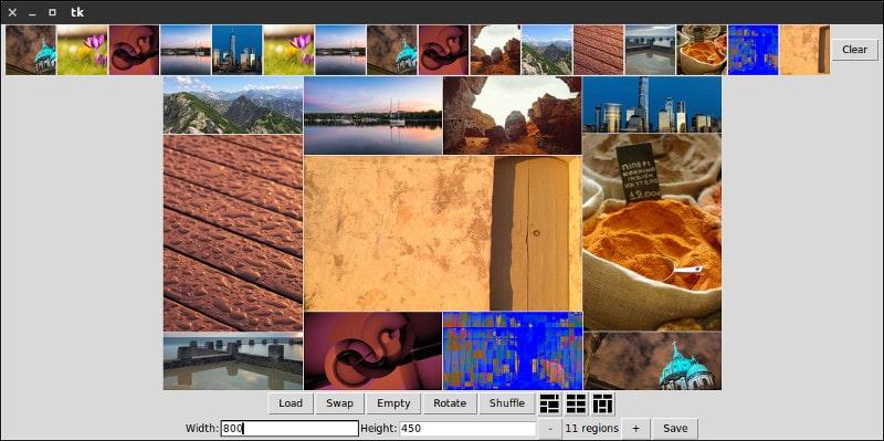 Mountain Tapir Collage Maker для Linux