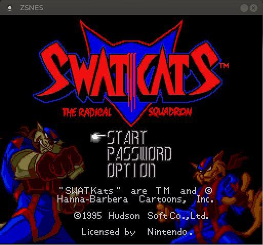 Juego SWATKats en Linux