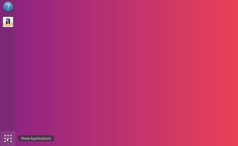 Mostrar aplicaciones Ubuntu 18.04