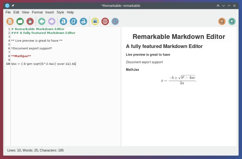 Notable rebaja de soporte de Mathjax