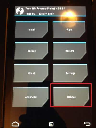 LinuxでのルートNexus 7 2013