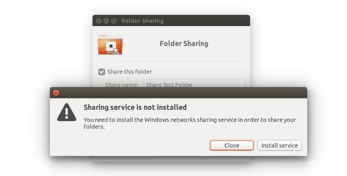 Сервис обмена в Ubuntu