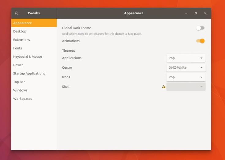 Cambiar tema es una de las cosas que debes hacer después de instalar Ubuntu 17.10
