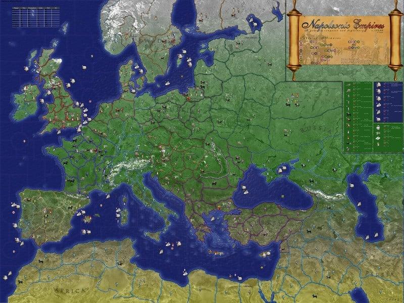 TripleA mapas del juego