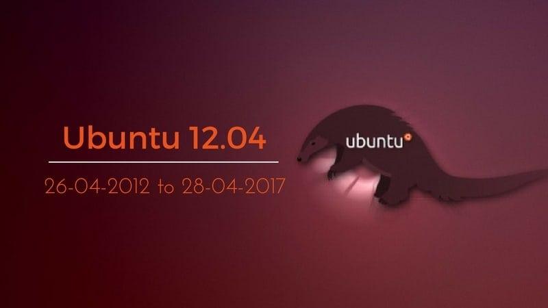 Ubuntu 12.04のサポート終了