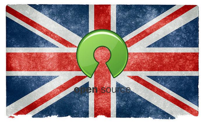 Software de código abierto del Reino Unido