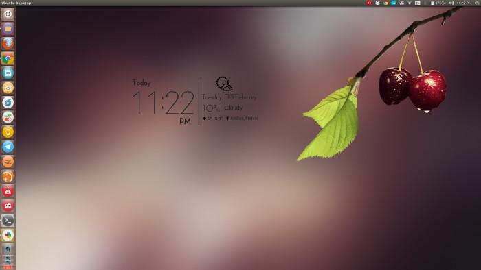 Используйте смартфон, как погода Conky в Linux