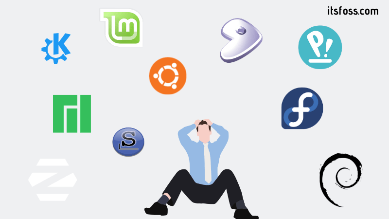 Demasiadas opciones de Linux
