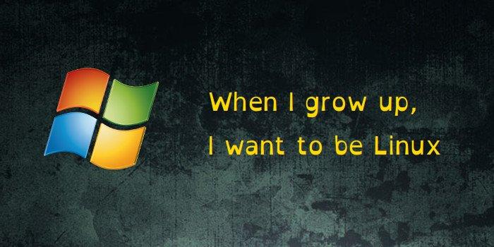 Windows 10 inspirado en Linux