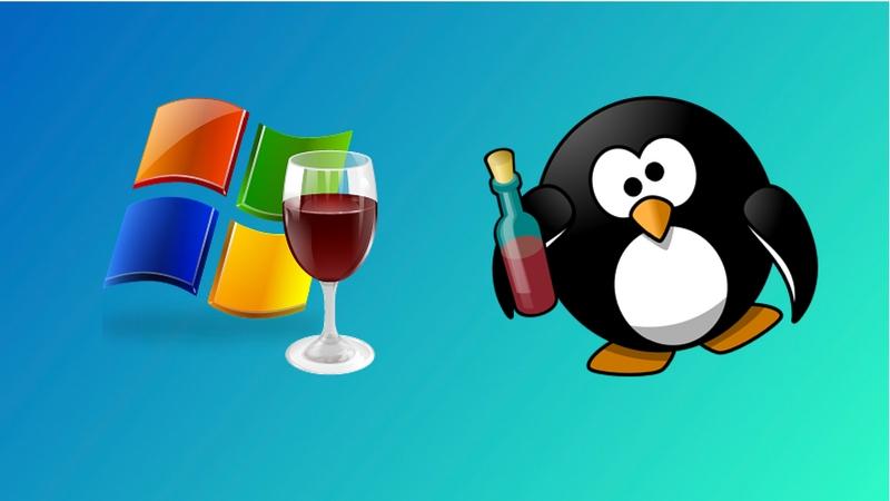 Wine te permite ejecutar el software de Windows en Linux