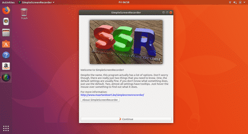 Instalar Ubuntu SimpleScreenRecorder