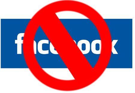 заблокировать доступ к facebook.com