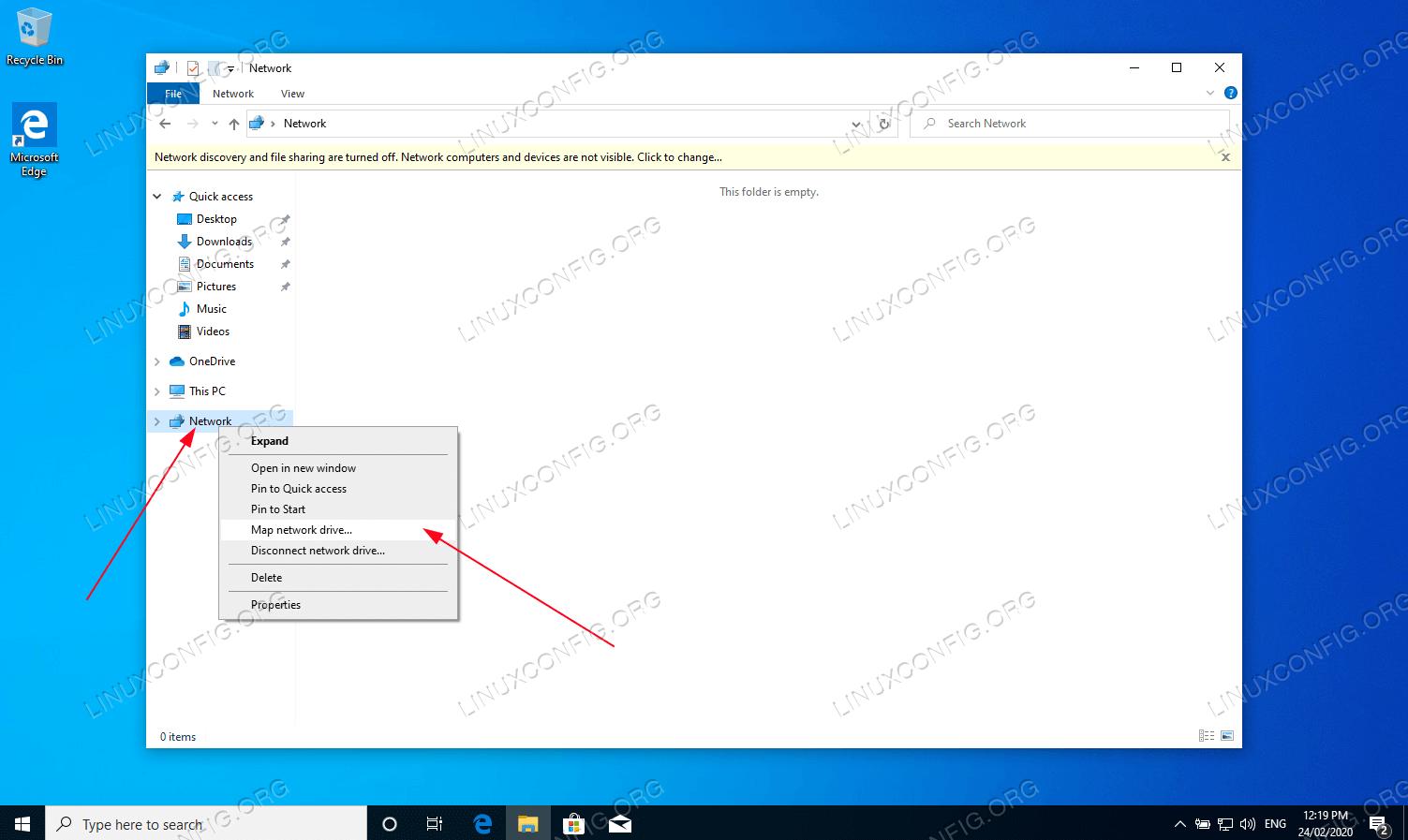 Смонтировать домашний каталог пользователя