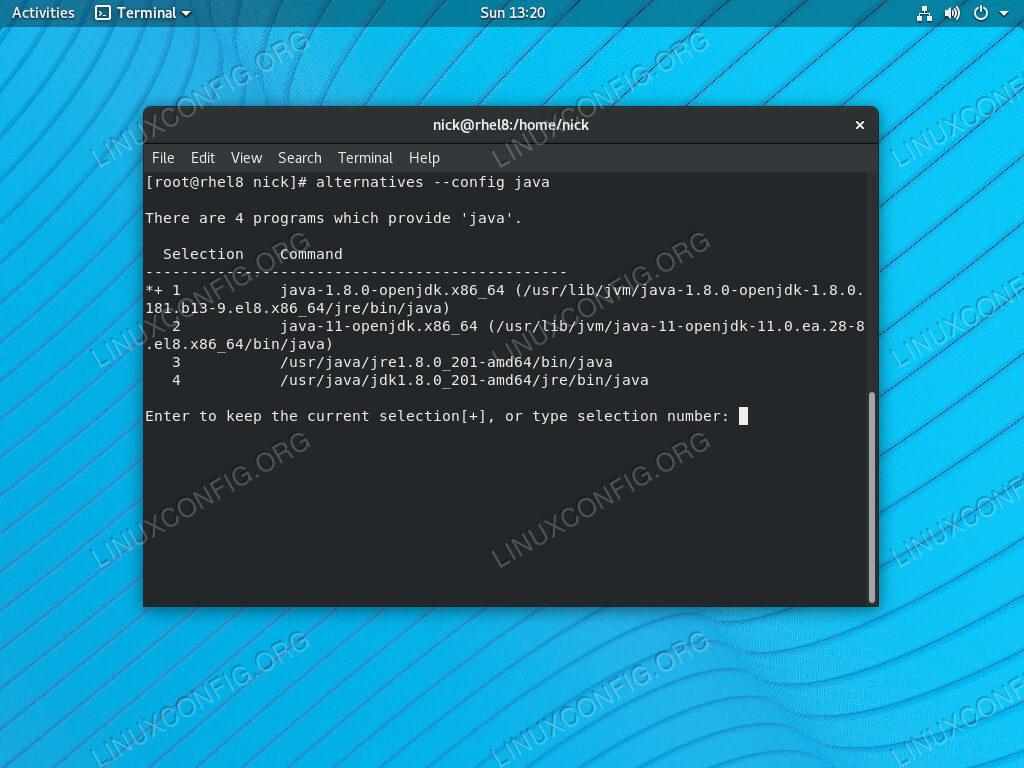 Goto Linux Com Como Instalar O Java No Rhel 8 Centos 8 Linux