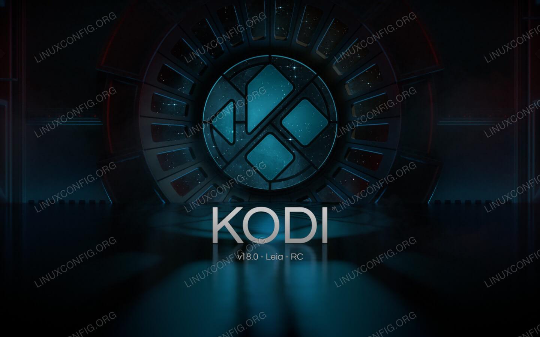Установите Kodi Beta на Ubuntu.
