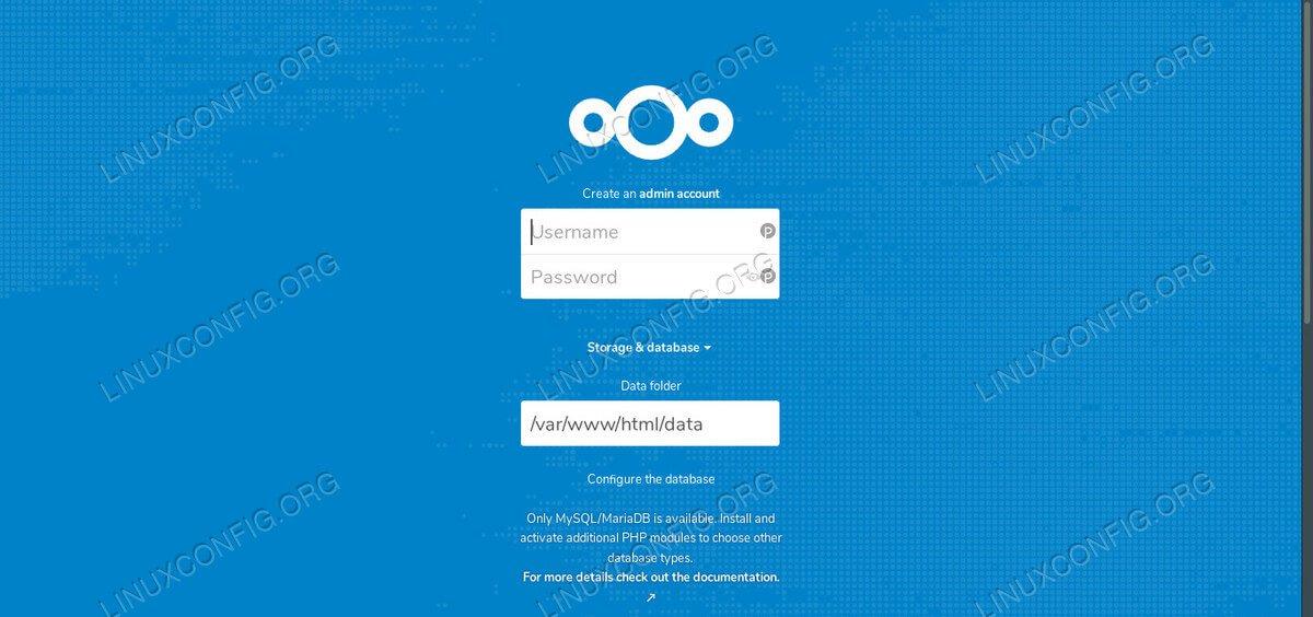 Настройте Nextcloud на Debian 10