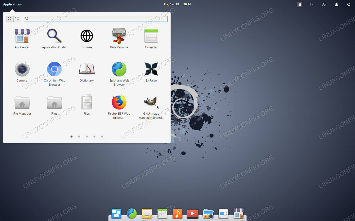 Pantheon Desktop di Debian