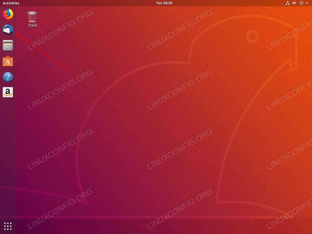 пусковая установка иконы Thunderbird