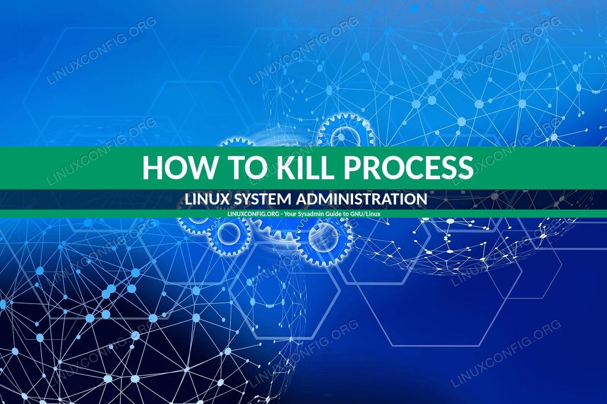 So beenden Sie einen laufenden Prozess unter Linux
