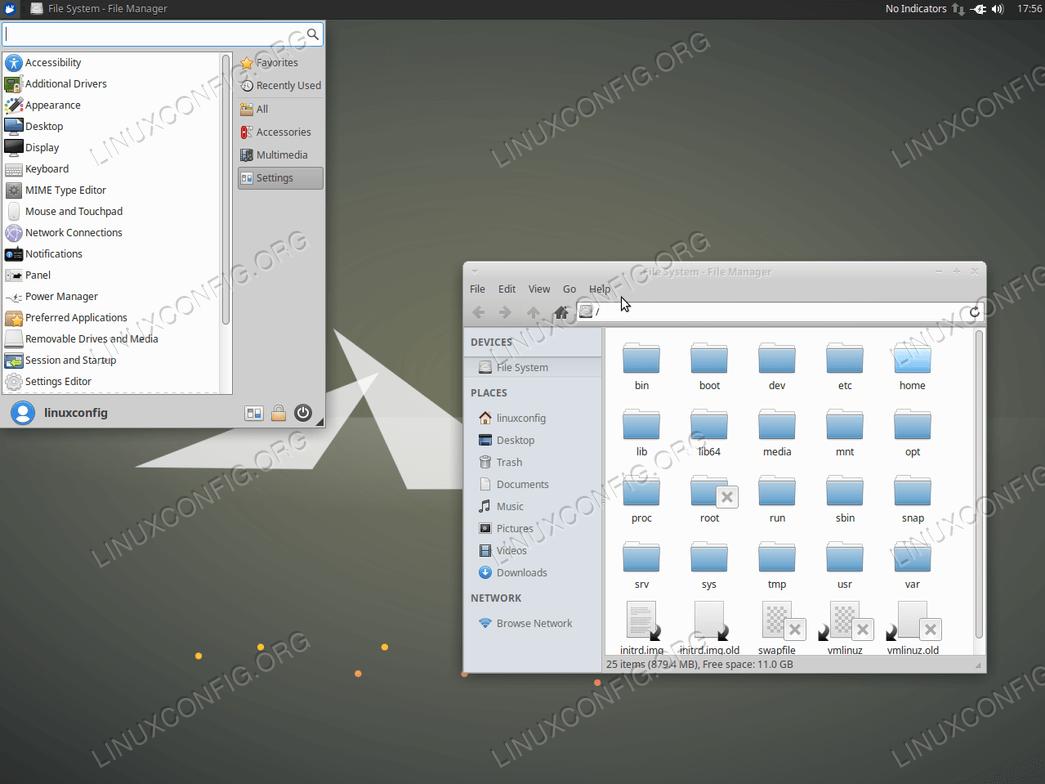 установить графический интерфейс сервера Ubuntu - ядро Xubuntu
