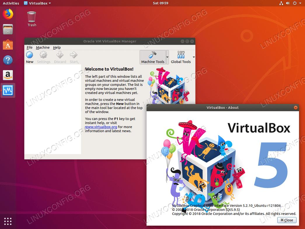 VirtualBox на Ubuntu 18.04 Bionic Beaver