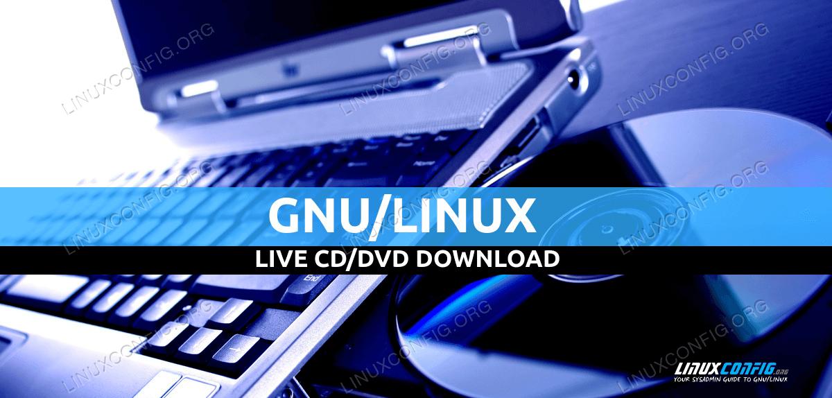 Live CD / DVD Linux Скачать