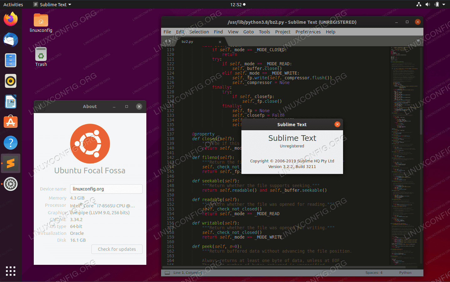 Sublime Text Editor в Ubuntu 20.04