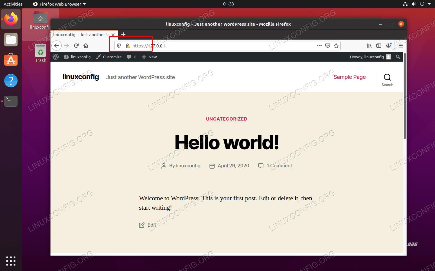 WordPressサイトでHTTPSが有効になりました